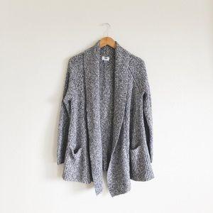 Old Navy speckled knit cardigan